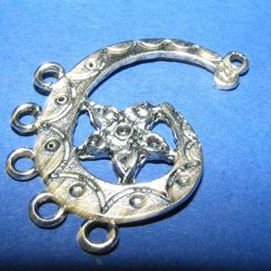 Medál/köztes (551/E minta/1 db), Gyöngy, ékszerkellék,  Medál/köztes (551/E minta) - antik ezüst színben  Mérete: 35x27 mm  Az ár egy darab termékre vonatk..., Meska