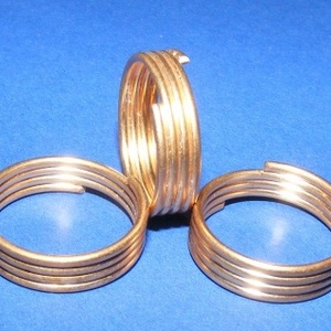 Gyűrű/karika (710/A minta/1 db)  (csimbo) - Meska.hu