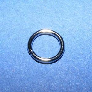 Szerelőkarika (1024. minta/20 db) - 9x1,2 mm - platinum - Meska.hu