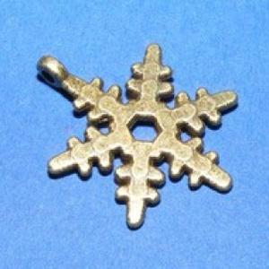 Medál (528/C minta/1 db) - hópehely (csimbo) - Meska.hu
