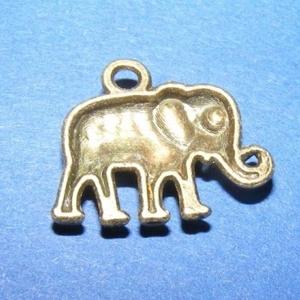 Medál (540. minta/1 db) - elefánt (csimbo) - Meska.hu