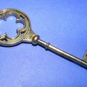 Medál (553. minta/1 db) - kulcs (csimbo) - Meska.hu