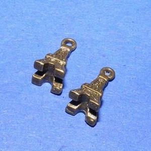 Medál (610/A minta/1 db) - Eiffel-torony (csimbo) - Meska.hu