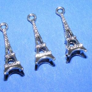 Medál (610/B minta/1 db) - Eiffel-torony (csimbo) - Meska.hu