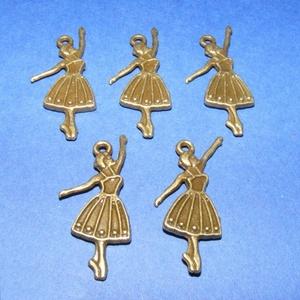 Medál (680/A minta/1 db) - balerina (csimbo) - Meska.hu