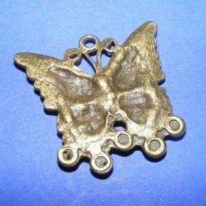 Medál alap (510. minta/1 db) - pillangó (csimbo) - Meska.hu