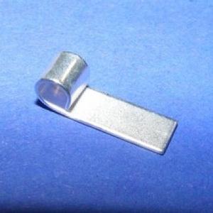 Medálrögzítő (352/H minta/1 db), Gyöngy, ékszerkellék,  Medálrögzítő (352/H minta) - ragasztható - ezüst színben  Mérete: 20x6 mm  Az ár egy darab me..., Meska