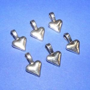 Medálrögzítő (353/B minta/1 db), Gyöngy, ékszerkellék,  Medálrögzítő (353/B minta) - ragasztható - antik ezüst színben  Mérete: 15x10 mmA ragasztható rész:..., Meska
