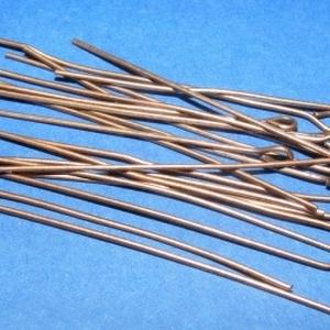 Szerelőpálca (1056. minta/20 db) - 45 mm - gyöngy, ékszerkellék - Meska.hu