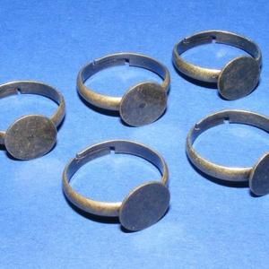 Gyűrű alap (36/A minta/1 db) (csimbo) - Meska.hu