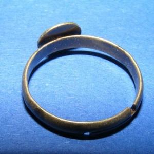 Gyűrű alap (39. minta/1 db) (csimbo) - Meska.hu