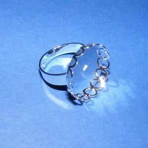 Gyűrű alap (44/A minta/1 db) - Meska.hu