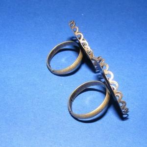 Gyűrű alap (5. minta/1 db) (csimbo) - Meska.hu