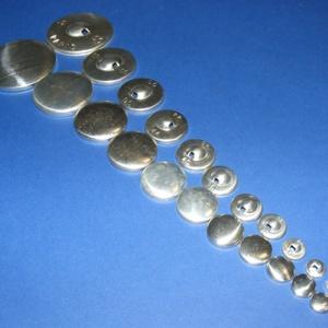 Fém gomb alap (4. méret/1 db) - gomb - Meska.hu