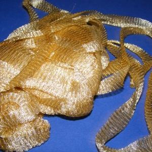 Drótszalag (6. minta/12x200 mm) - arany (csimbo) - Meska.hu