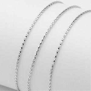 Metál kötözőzsinór (Ø 1 mm/1 m) - ezüst (csimbo) - Meska.hu