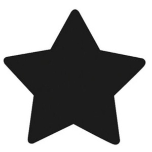 Dekorgumi- és papírlyukasztó (17. minta/1 db) - csillag - 16 mm (csimbo) - Meska.hu
