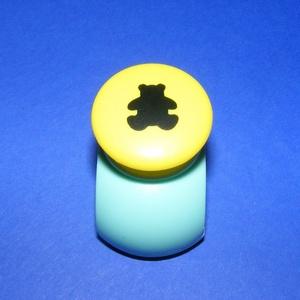 Papírlyukasztó (32. minta/1 db) - maci - 18 mm (csimbo) - Meska.hu