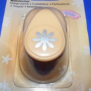 Papírlyukasztó (48. minta/1 db) - virág - 16 mm (csimbo) - Meska.hu