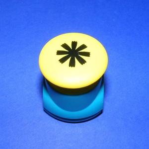 Papírlyukasztó (52. minta/1 db) - virág - 18 mm (csimbo) - Meska.hu