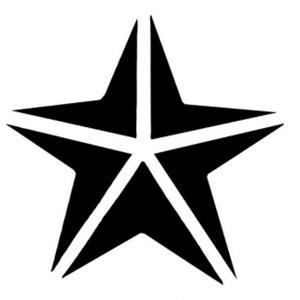 Papírlyukasztó (68. minta/1 db) - csillag - 75 mm (csimbo) - Meska.hu
