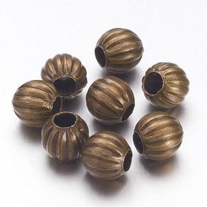 Bronz köztes (618/B minta/10 db) - Ø 6 mm, Gyöngy, ékszerkellék,  Bronz köztes (618/B minta) - bronz színben  Mérete: Ø 6 mmFurat: 2 mm  Az ár 10 darab termékre vona..., Meska