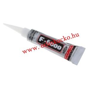 F-6000 ragasztó (10 g/1 db), Ragasztó, Mindenmás, \nF-6000 ragasztó\n\nSzuper erősségű ékszerragasztó (nem pillanatragasztó!. \n\nFelhasználható: ékszerköv..., Meska