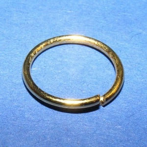 Szerelőkarika (1019/D minta/10 db) - 12x1 mm (csimbo) - Meska.hu