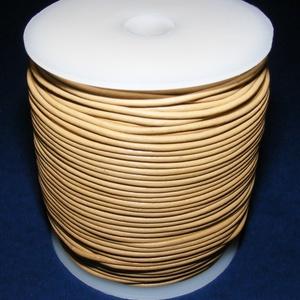 Hasított bőrszíj - 2 mm (23. minta/1 m) - homok (csimbo) - Meska.hu