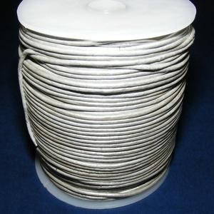 Hasított bőrszíj - 2 mm (29. minta/1 m) - ezüstszürke (AKCIÓS) (csimbo) - Meska.hu