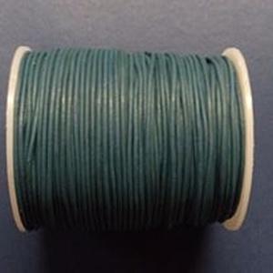 Hasított bőrszíj - 1,5 mm (16. minta/1 m) - sötétkék - vegyes alapanyag - egyéb alapanyag - Meska.hu