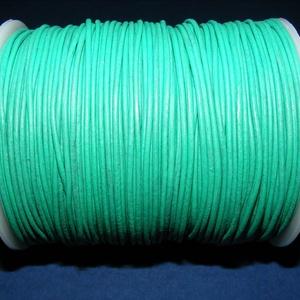 Hasított bőrszíj - 1,5 mm (21. minta/1 m) - középzöld (AKCIÓS) (csimbo) - Meska.hu