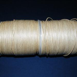Hasított bőrszíj - 1,5 mm (17. minta/1 m) - krém (metál) (csimbo) - Meska.hu