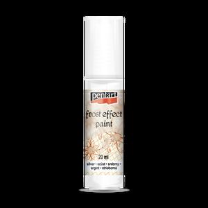 Pentart szatináló festék (20 ml/1 db) - ezüst, Festék, Festett tárgyak, festészet, Festékek, \nPentart szatináló festék - 20 ml\n\nHomokfúvott vagy jeges hatás eléréséhez alkalmazható, áttetszőre ..., Meska