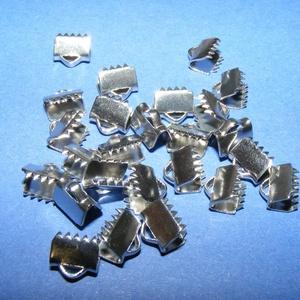 Nemesacél szalagvég (STAS-61 minta/1 db) - 6 mm, Gyöngy, ékszerkellék, Ékszerkészítés,  Nemesacél szalagvég (STAS-61 minta) - 6 mmNemesacél (304 Stainless Steel) termék  Mérete: 6x6,5x4 ..., Alkotók boltja