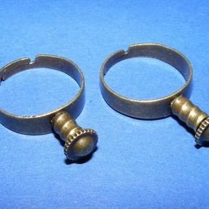 Gyűrű alap (64/A minta/1 db) (csimbo) - Meska.hu