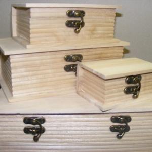Könyv alakú fadoboz (10,5x7x4,5 cm/1 db) - mini, Fa,  Könyv alakú fadoboz     Mérete: 10,5x7x4,5 cmAnyaga: natúr fa    Többféle méretben rendelhető. ..., Meska