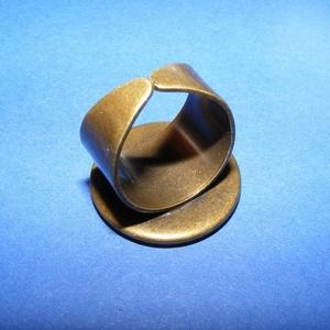 Gyűrű alap (64/AB minta/1 db) - bronz (csimbo) - Meska.hu