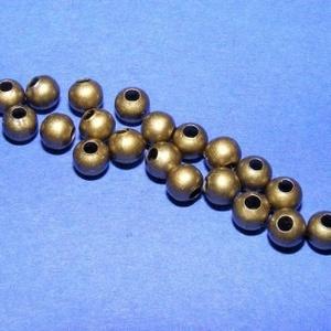 Bronz köztes (617/A minta/10 db), Gyöngy, ékszerkellék,  Bronz köztes (617/A minta)  Mérete: 4 mmFurat: 1,5 mm  Az ár 10 darab termékre vonatkozik. ..., Meska