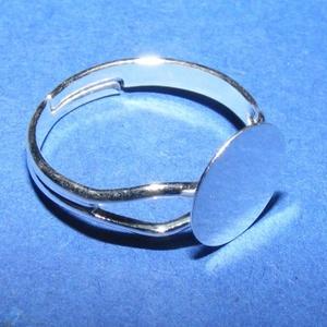 Gyűrű alap (63. minta/1 db) - ezüst (csimbo) - Meska.hu