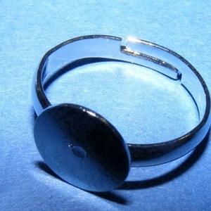 Gyűrű alap (28. minta/1 db) - nikkel - Meska.hu
