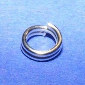 Szerelőkarika (1013/A minta/20 db) - 4x0,7 mm - gyöngy, ékszerkellék - Meska.hu