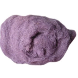 Festett gyapjú (50 g) - lila (csimbo) - Meska.hu