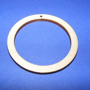 Fa alap (163. minta/1 db) - fúrt karika (Ø 30 mm), Fa, Egyéb fa,  Fa alap (163. minta) - fúrt karika (Ø 30 mm)  A keret külső mérete: Ø 30 mmA keret szélessége: 5 m..., Alkotók boltja