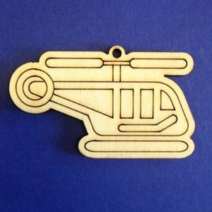 Fa alap (262. minta/1 db) - helikopter, Fa, Egyéb fa, \nFa alap (262. minta) - helikopter\n\nMérete: 75x44 mmAnyaga: rétegelt lemezAnyagvastagság: 3 mmFurat:..., Meska