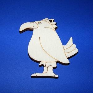 Fa alap (263. minta/1 db) - papagáj, Fa, Egyéb fa, \nFa alap (263. minta) - papagáj\n\nMérete: 58x68 mmAnyaga: rétegelt lemezAnyagvastagság: 3 mmFurat: 3 ..., Meska