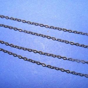 Szerelt lánc (4. minta/1 db) -  1,5x2 mm x 66 cm (csimbo) - Meska.hu