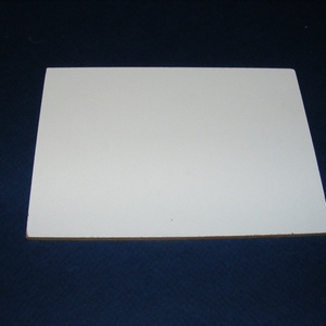 Farostlemez (24x24 cm/1 db) - fehér/natúr (csimbo) - Meska.hu
