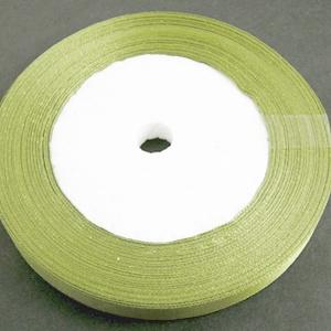 Szaténszalag (127. minta/1 m) - oliva (csimbo) - Meska.hu