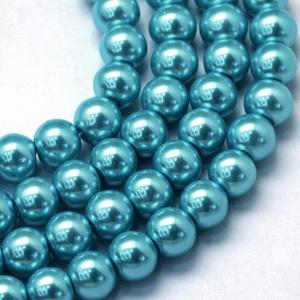 Viaszgyöngy-19 (Ø 4 mm/~ 230 db) - kék (csimbo) - Meska.hu